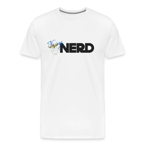 King Nerd Men's T-Shirt - Men's Premium T-Shirt