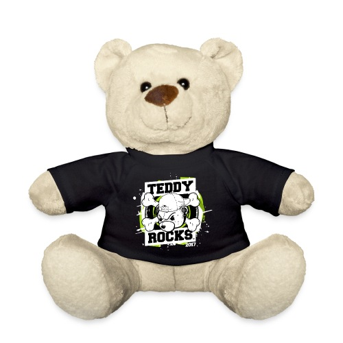 Teddy Rocks Festival Bear - Teddy Bear