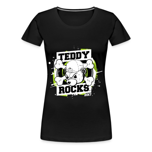 Teddy Rocks women's tee - Women's Premium T-Shirt