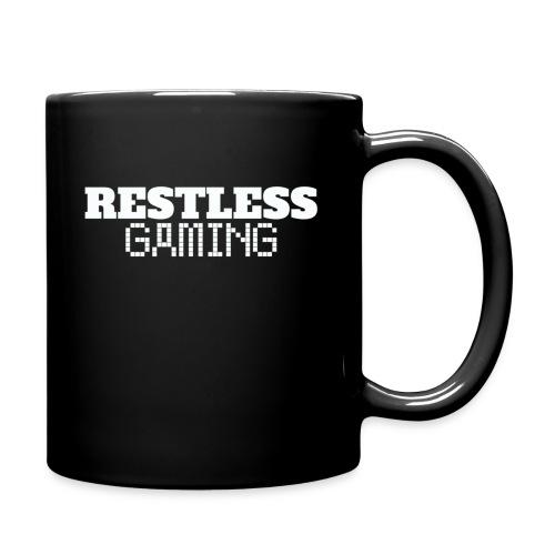 Tazza Restless Gaming con logo su un lato (impugnatura mano sinistra) - Tazza monocolore