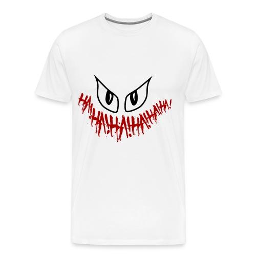 Joker White T-Shirt - Men's Premium T-Shirt