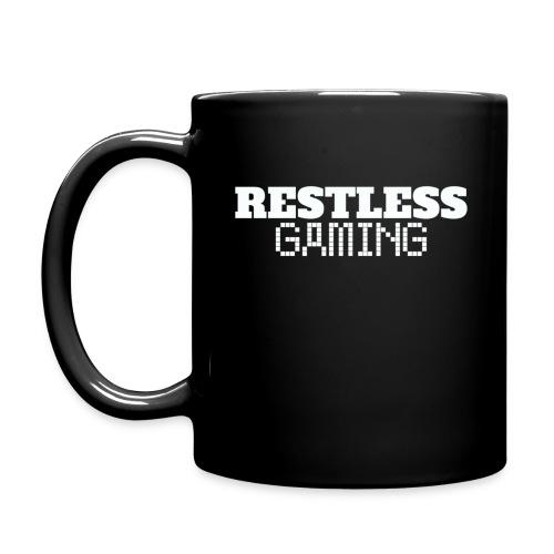 Tazza Restless Gaming con logo su un lato (impugnatura mano destra) - Tazza monocolore