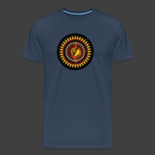 The third tubular illumination on the way home - Men's Premium T-Shirt