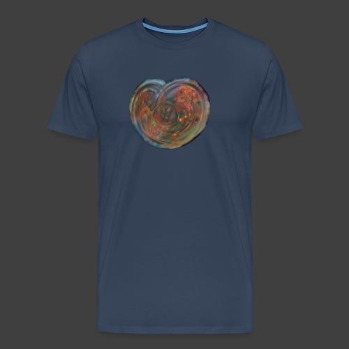 The Heart Of The Apple - Men's Premium T-Shirt