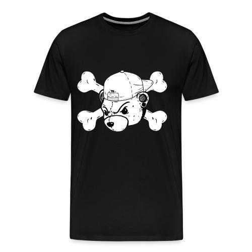 Bear and cross bones - Men's Premium T-Shirt