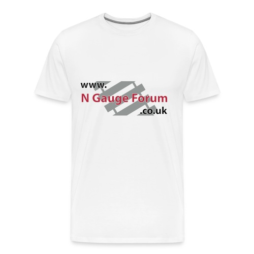 White Shirt - Men's Premium T-Shirt