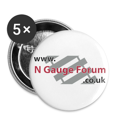 NGF Badges - Buttons medium 1.26/32 mm (5-pack)