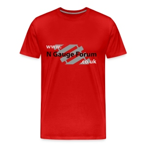 Red T-Shirt - Men's Premium T-Shirt