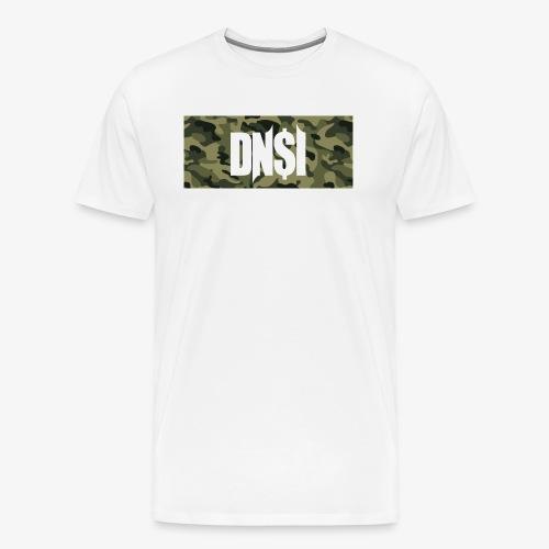 DNSI Camouflage T-Shirt GREEN - Männer Premium T-Shirt