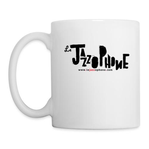 Mug blanche Le Jazzophone - Mug blanc