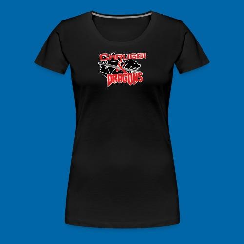 Maglietta DONNA - Caruggi and Dragons - Maglietta Premium da donna