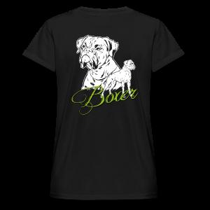 Boxer - Frauen Oversize T-Shirt