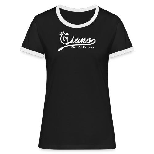DJ Ciano Women (black) - Women's Ringer T-Shirt