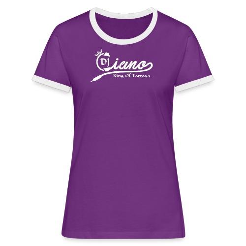DJ Ciano Women (purple) - Women's Ringer T-Shirt