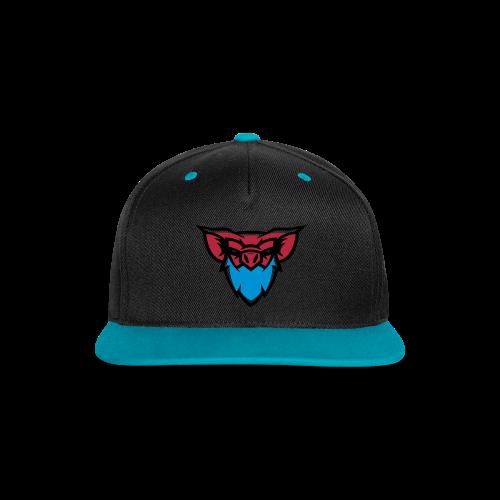 PigMan Logo Snapback - Contrast Snapback Cap