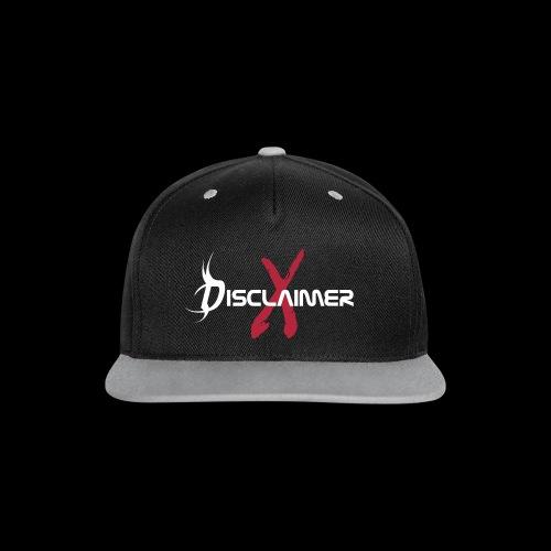 Baseball Cap - Kontrast Snapback Cap