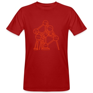 Atomium Brüssel - Männer Bio-T-Shirt