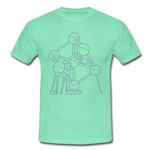 Atomium Brüssel - Männer T-Shirt