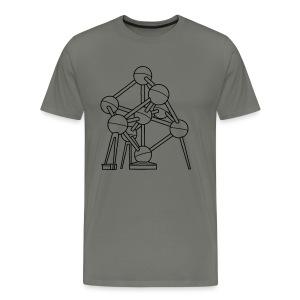 Atomium Brüssel - Männer Premium T-Shirt