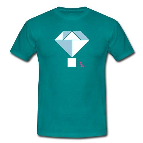 En mode tangram - Diamond - T-shirt Homme