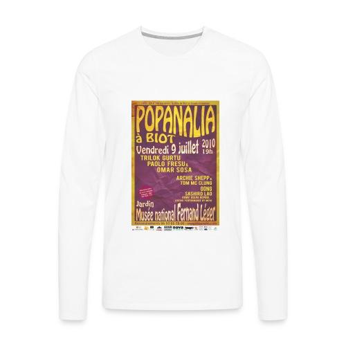 T-Shirt Homme manches longues Popanalia 40 ans après ! - T-shirt manches longues Premium Homme