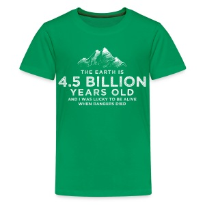 4.5 Billion - Teenage Premium T-Shirt