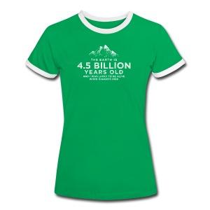 4.5 Billion - Women's Ringer T-Shirt