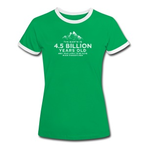 4.5 Billion - Women's Ringer T-Shirt