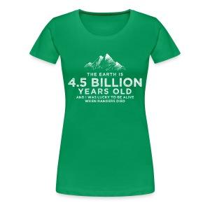4.5 Billion - Women's Premium T-Shirt