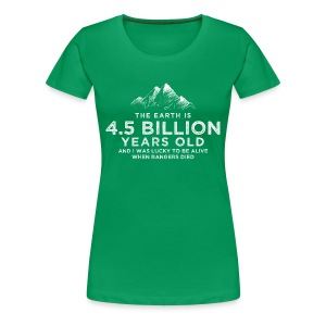 4.5 Billion - Women's Premium T-Shirt