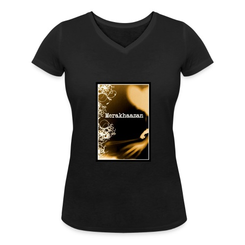 T-Shirt Femme Merakhaazan - T-shirt bio col V Stanley & Stella Femme