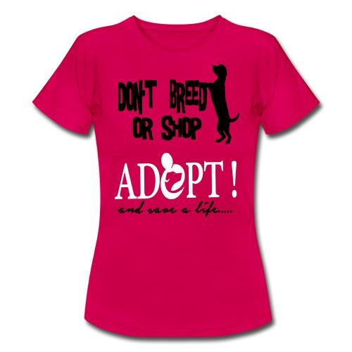 ACTIVE FRIENDS ADOPT - Frauen T-Shirt