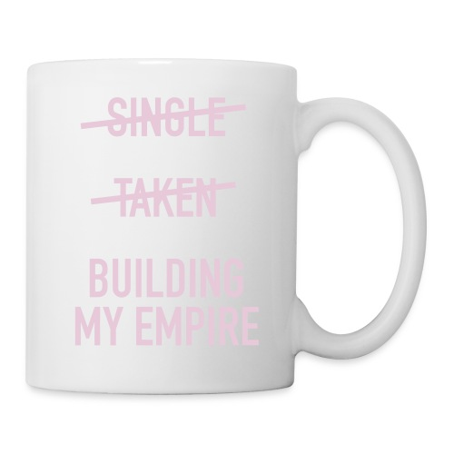 Single Taken Empire Buchstaben Tasse (Personalisierbar) - Tasse