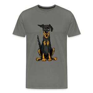 Männer Premium T-Shirt - Bauceron,Bauceron Shirt,Berner Sennenhund,Dobermann,Hunde Shirt,Hundeschule,Schutzhund