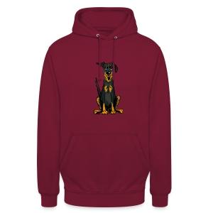 Unisex Hoodie - Bauceron,Bauceron Shirt,Berner Sennenhund,Dobermann,Hunde Shirt,Hundeschule,Schutzhund