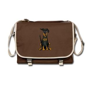 Umhängetasche - Bauceron,Bauceron Shirt,Berner Sennenhund,Dobermann,Hunde Shirt,Hundeschule,Schutzhund