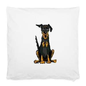 Kissenbezug 40 x 40 cm - Bauceron,Bauceron Shirt,Berner Sennenhund,Dobermann,Hunde Shirt,Hundeschule,Schutzhund