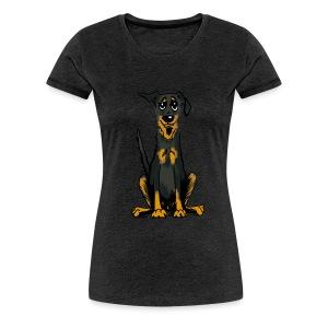 Frauen Premium T-Shirt - Bauceron,Bauceron Shirt,Berner Sennenhund,Dobermann,Hunde Shirt,Hundeschule,Schutzhund