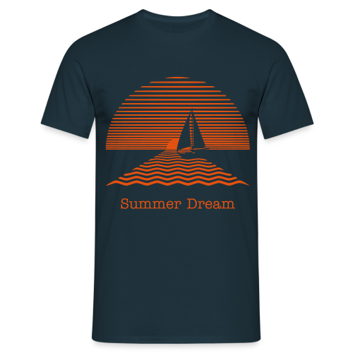 Summer Dream Shirt - Mannen T-shirt