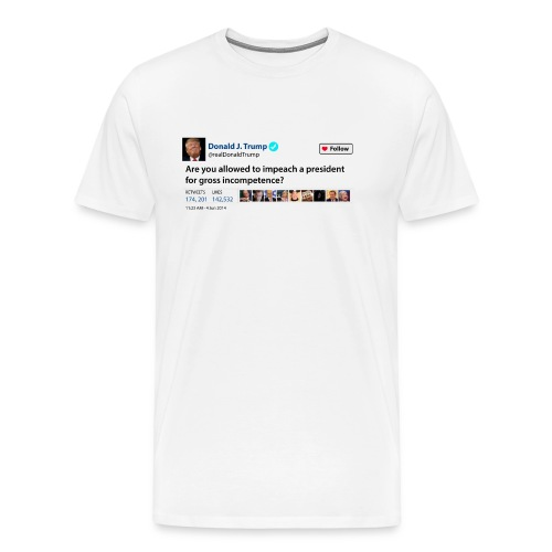 Donalds Tweet - Men's Premium T-Shirt