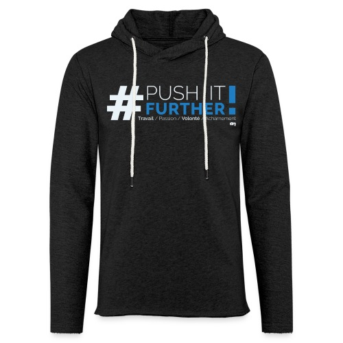 PushItFurther - Sweet F - Sweat-shirt à capuche léger unisexe