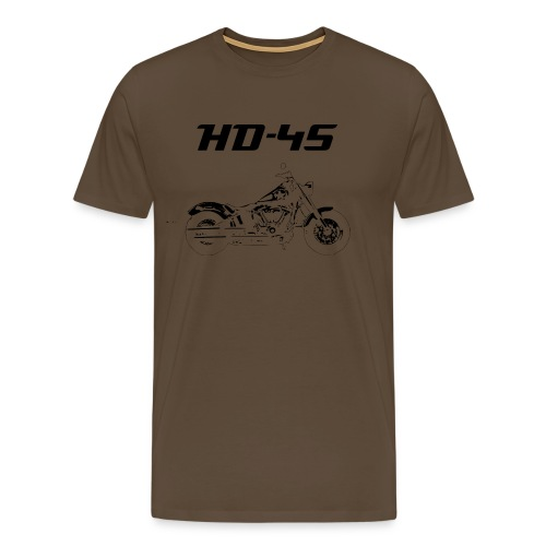 Bobber Old School HD 45 - Männer Premium T-Shirt