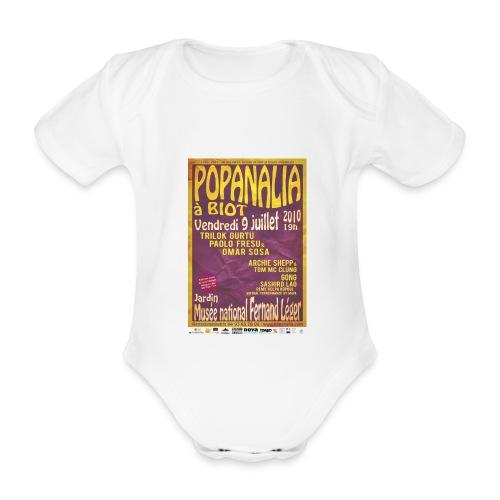 Body Bébé Popanalia 40 ans après ! - Body bébé bio manches courtes