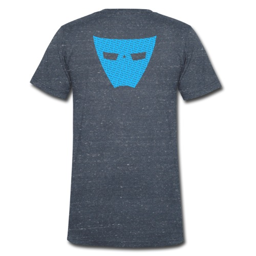 EverLight - It's About Acid text over mask - Men's Organic V-Neck T-Shirt by Stanley & Stella