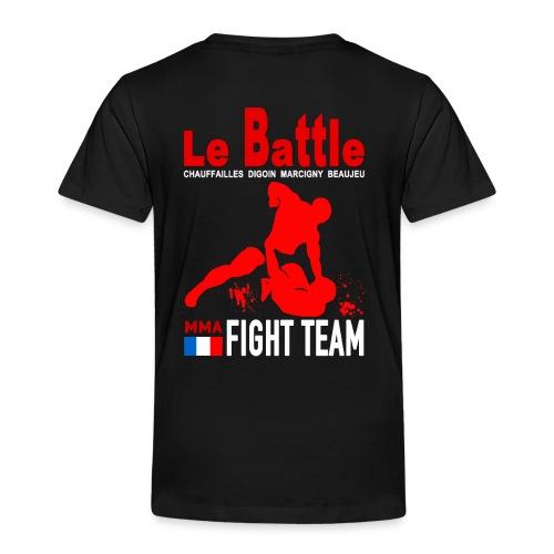 Tee shirt noir Fight Team enfants - T-shirt Premium Enfant