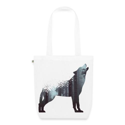 Wald Wolf - Bio-Stoffbeutel