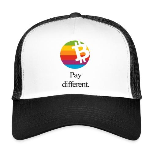 Bitcoin - pay different Trucker-Mash Kappe - Trucker Cap