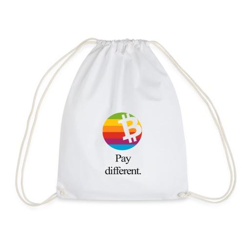 Bitcoin Tragetasche - pay different. - Turnbeutel