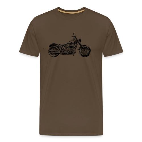 Bobber Old Style HD - Männer Premium T-Shirt