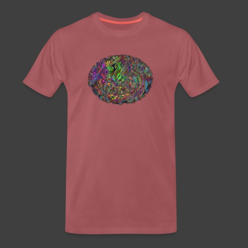 Observing your thoughts from above - Men's Premium T-Shirt